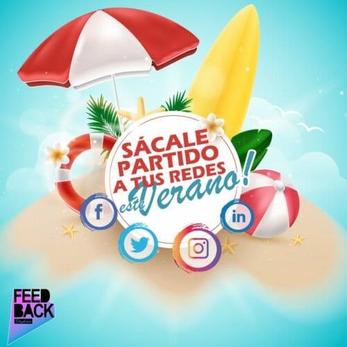 Sácale partido a tus redes sociales en verano