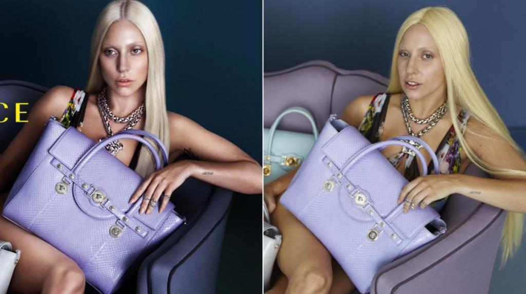 Errores de Photoshop en Versace