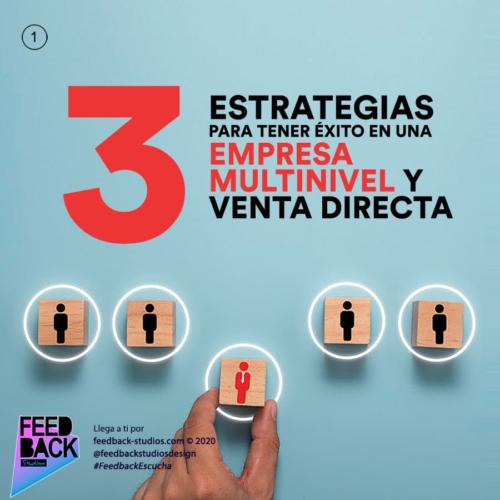 Empresa multinivel y venta directa: 3 estrategias para tener éxito